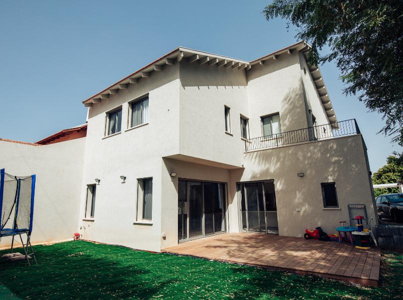 בית משפחת גרינברג- בניה מתקדמת
