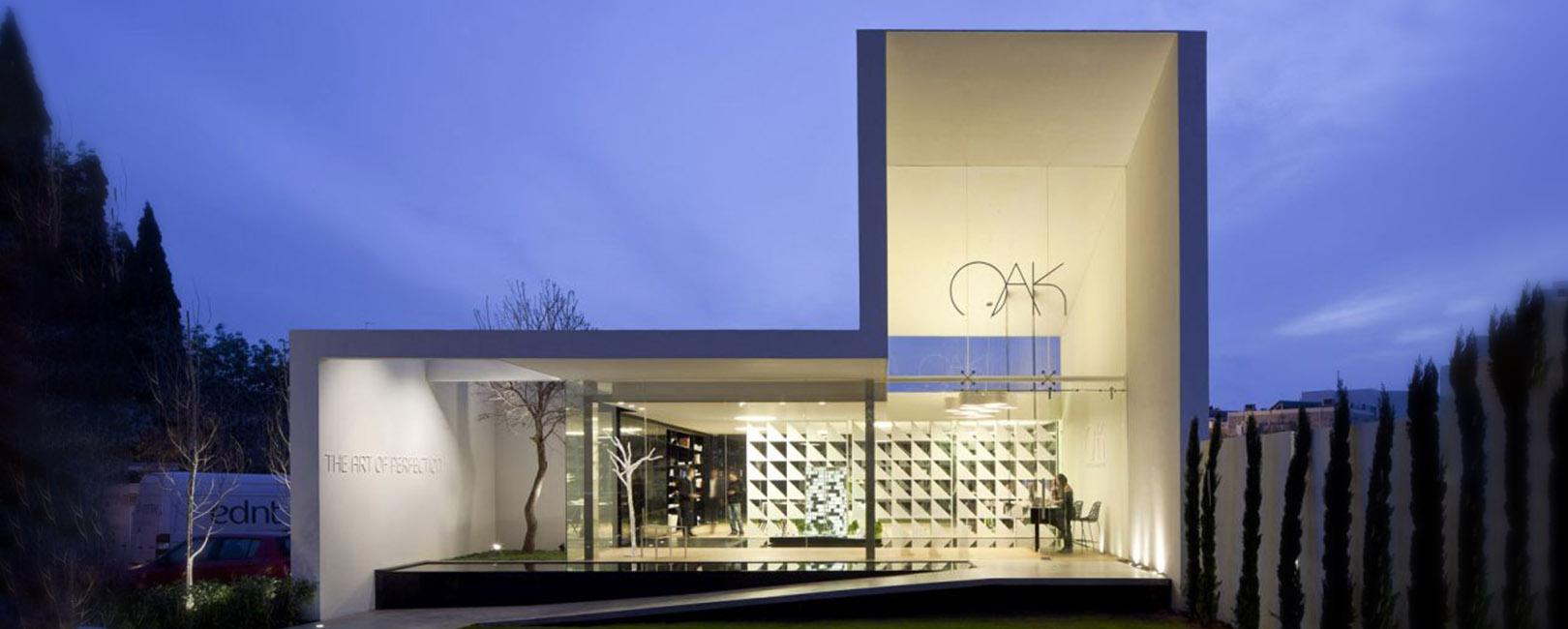 מרכז מבקרים OAK- בניה קלה